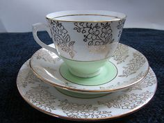 Vintage Phoenix Bone China trio