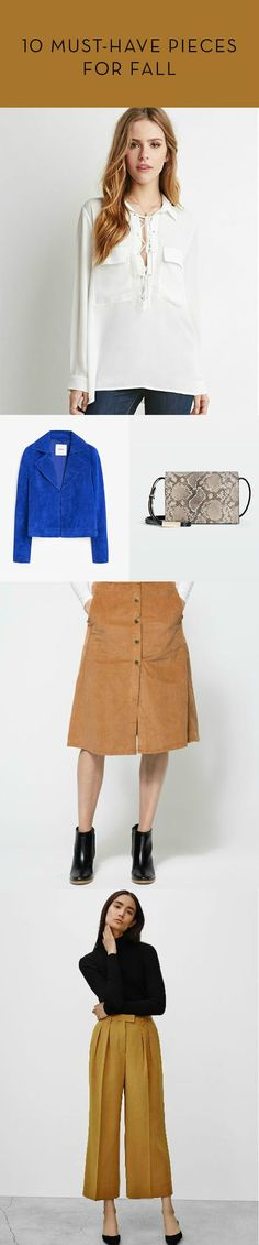 10 Fall Fashion Outfit Ideas: These must-have pieces are perfect to add to your wardrobe for the upcoming season!