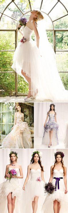 32 Chic Short Wedding Dresses - Eme Di Eme