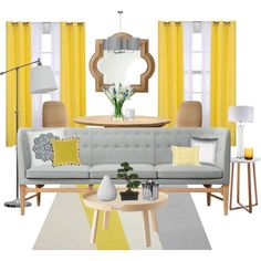 Sunshine by dstrn8 on Polyvore featuring interior, interiors, interior design, home, home decor, interior decorating, &Tradition, Muuto, Brucs and Drew