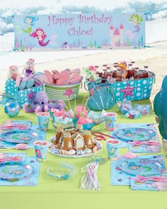 magical mermaids party