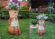 Ideas para decorar tu jard n on pinterest painted tin - Ideas para decorar tu jardin ...