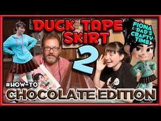 How to make a Duct Tape Skirt 2 - Vanelope Von Schweetz cosplay from Wreck It Ralph