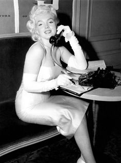 Marilyn Monroe at the United Jewish Appeal of Greater New York, 1955.