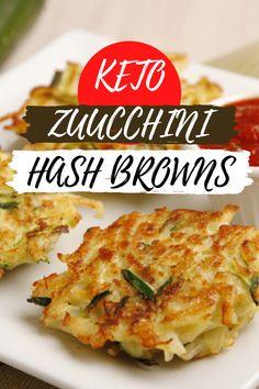 Keto Zucchini Hash Browns #FoodTips