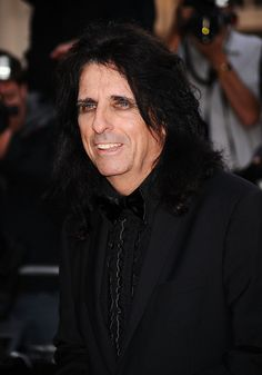 alice cooper | Alice Cooper Alice Cooper arrives at the GQ Men of the Year Awards ...