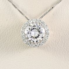 7.5mm Round Forever Brilliant Moissanite by MotifGemsandDiamonds Click here to purchase! https://www.etsy.com/listing/189098308/75mm-round-forever-brilliant-moissanite?