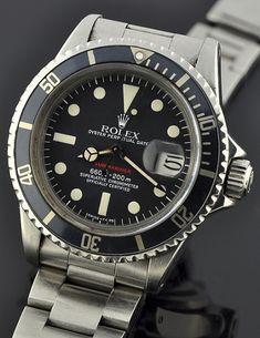 Rolex Submariner Red 1680