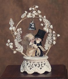 Kewpie Wedding Cake Topper