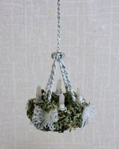 how to: miniature  candle chandelier