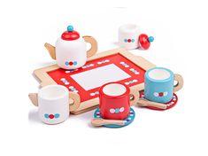 Sugar Pot, Buy Tea, Green Toys, Scottish Islands, Milk Jug, Tea Set, Cup And Saucer, Little Ones, Tray
