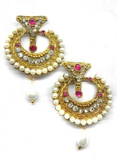 Remarkable Pink Earring Set