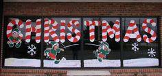 Merry Christmas Window Painting 2 of 2 by ArtFX Design Studios, via Flickr