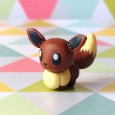 """""""Tadaaa ! Vous me l'aviez tellement demandé... :3 Voici Evoli (version Pokémon Rumble World) ! o/ #Fimo"""""""