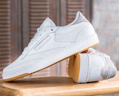 huge selection of 84f05 d2250 The retro-inspired Reebok Club C 85 Diamond sneaker is a classic style with  a