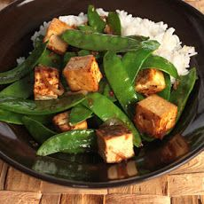 Spicy Snow Pea and Sesame Stir-Fry Recipe