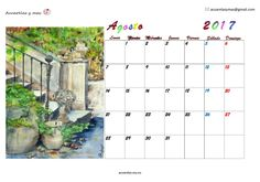 ...si finalmente decides que NO te largas y te quedas, porque estás inmóvil esperando sin conciencia y sin supervivencia, arrastrado y exhausto quejándote de lo que no te gusta, entonces te mueres y de ahí ya no sales... te lo prometo, entonces te lo pierdes. #agosto #August #calendar #calendario #watercolor #acuarela #painting #artist #draw