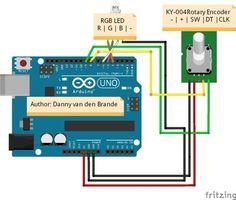 Arduino - Rotary encoder Simple Example KY-040
