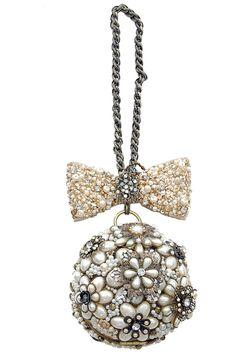 1920s style pearls wisdom handbag . unique-vintage.com