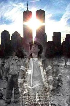 9/11 firefighter and angel picture - Google Search. Check out that cool T-Shirt here: https://www.sunfrog.com/I-love-my-firefighter-Black-Ladies.html?53507