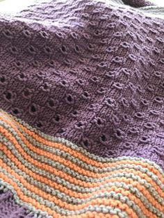 Der neue Knit-A-Long: Bel Air! Bel Air, Crochet Top, Blanket, Knitting, Women, Dots, Tejidos, Scarves, Handarbeit