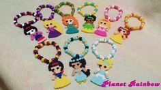 Disney Princess Kandi Bracelets - Rave - Festival - Made to order