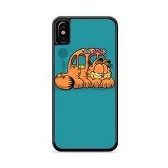 Puss Garfield Meow Bus iPhone XS Max | Miloscase How To Apply, Phone Cases, Iphone, Phone Case