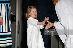 Princess Estelle during her grandfather's 70th Birthday festivities. April 30, 2016.