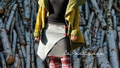 La Pantigana: MsMSW: Falda Siri (sew along). Sewing Hacks, Sewing Tutorials, Sewing Ideas, Siri, Refashion, Inspiration, My Style, Clothes, Rock