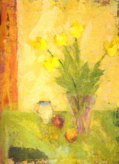 Yellow Tulips by Cynthia Packard
