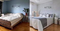 Una transformación radical (y low cost) para un dormitorio