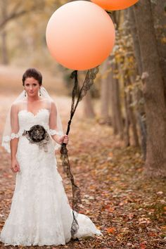 Bride & Balloon