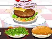 Free Online Girl Games, Play Hamburger Contest! Add cheese, lettuce and meat plus tons of other toppings! Create the best burger and show your friends! #freegames #hamburger #girlgames #dressup