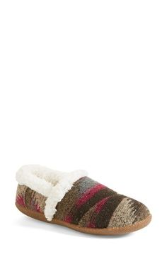 TOMS 'Classic - Wool' Slippers (Women) available at #Nordstrom