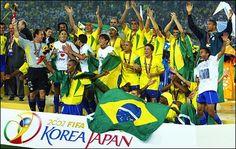Brasil Campeon del Mundo 2002