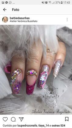 Linda Nails, Beauty Secrets, Beauty Ideas, Hair And Nails, Manicure, Nail Art, Acrylic Nails, Makeup, Nail Designs