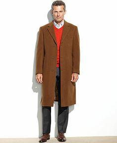 Full knee keight from Lauren by Ralph Lauren Coat, Columbia Cashmere-Blend Overcoat - Coats & Jackets - Men - Macy's