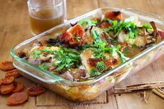 Maggie Beer's Chicken Thigh braised with Dried Apricots, Honey and Vinegar