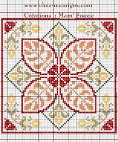 Biscornu Cross Stitch, Cross Stitch Pillow, Cross Stitch Love, Cross Stitch Pictures, Cross Stitch Borders, Cross Stitch Alphabet, Cross Stitch Flowers, Cross Stitch Designs, Cross Stitching