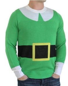 I want to attempt to make this for Josh for next year for the ugly sweater contest