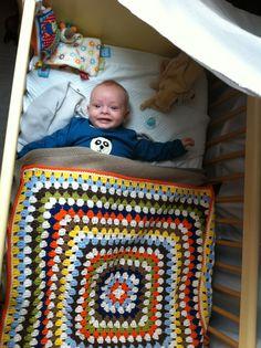 Zowel sprei als baby: zelf gemaakt :-)