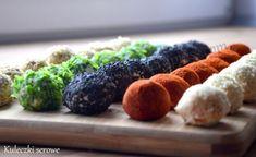 Kuleczki serowe – My dishes and sweets Energy Bites, Mozzarella, Sushi, Ricotta, Sweets, Dishes, Impreza, Ethnic Recipes, Gummi Candy
