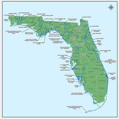designated paddling trails map
