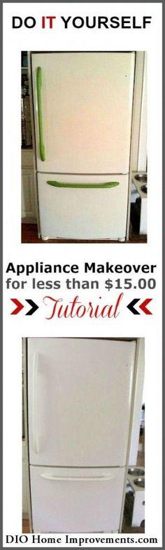Painting An Appliance - DIO Home Improvements #HomeAppliancesChecklist
