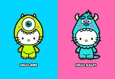 Hello Kitty Monsters Inc