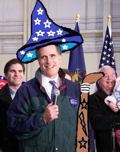 Mitt Romney is a Wizard and his Foreign Policy is Magic