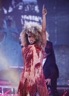Fleur East has further established herself as one of The X Factor surprise packages with her Halloween-themed performance of Michael Jackson's Thriller. The former Addictiv Ladies singer almost stole. Fleur East, Battling Depression, Singing Competitions, Music Promotion, Pop Idol, Stage Outfits, Famous Celebrities, American Idol, Music Lovers