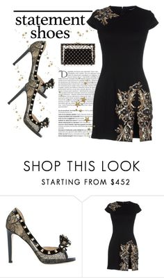 """""""Statement Shoes"""" by conch-lady ❤ liked on Polyvore featuring Valentino, Balmain, Dsquared2, Charlotte Olympia and statementshoes"""