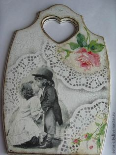 Lace Painting, Painting Patterns, Painting On Wood, Diy And Crafts, Arts And Crafts, Shabby Chic Farmhouse, Seashell Crafts, Decoupage Paper, Valentine Crafts