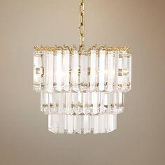 "Robert Abbey Spectrum 12 1/4""W Modern Brass Pendant Light - #9W745 | Lamps Plus"